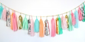 confetti system tassel garland multi colour 2;1