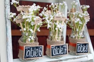 Original Flower Table Seating Plan