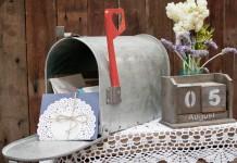 mail box wishing well