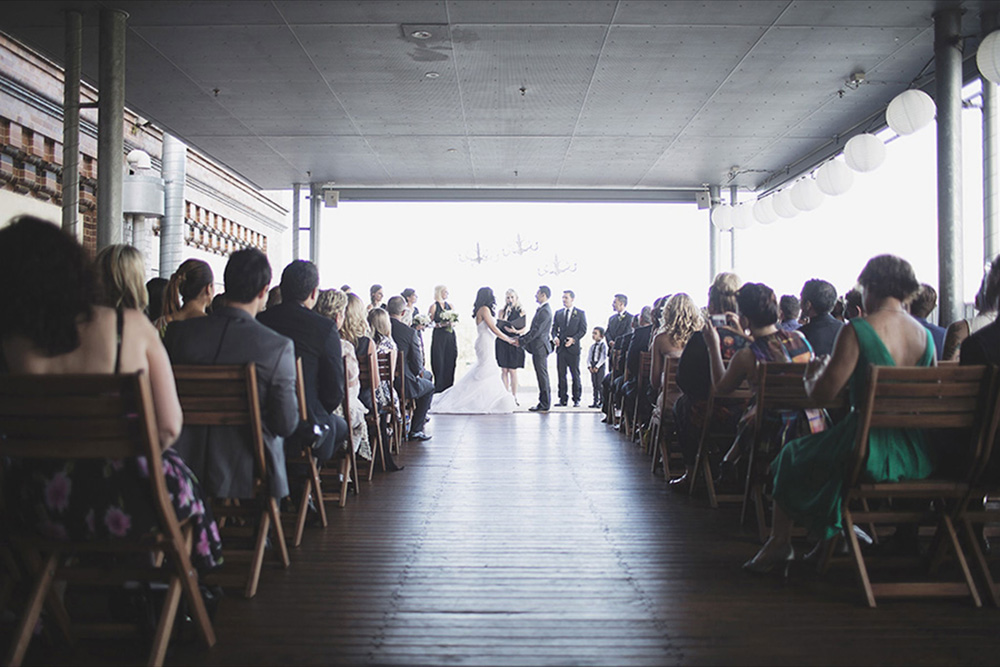 Brisbane Powerhouse Wedding Ceremony