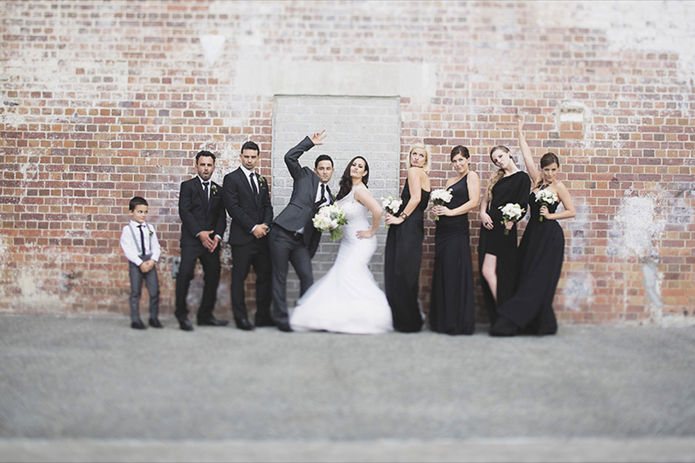 Mikka and Jonti Brisbane Powerhouse Wedding