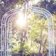 Ornate Garden Wedding Arbour