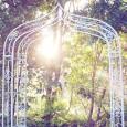 Ornate Garden Wedding Arbour