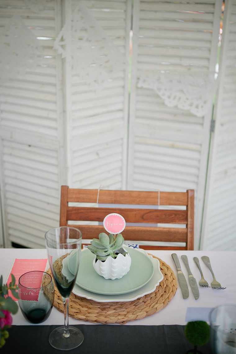 Beach Wedding Table styled by Lovestruck Weddings