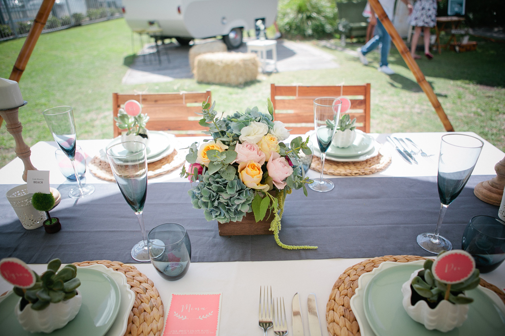The Wedding Harvest - Table styled by Lovestruck