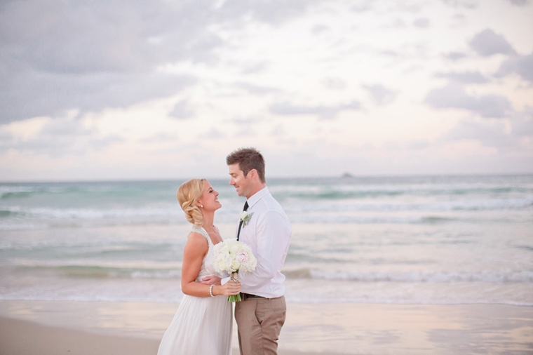 Lisa and Mitch Byron Bay Beach Wedding