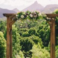 Lovestruck Wedding Ceremony Wooden Arbour