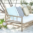 Lovestruck Weddings Bamboo Sofa