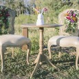 Lovestruck ceremony signing table and chairs