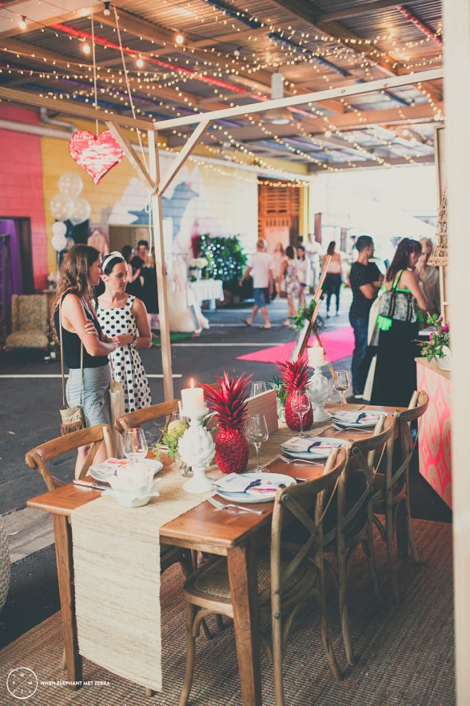 Lovestruck Weddings at A Darling Affair featuring our new Cross Back Chairs