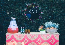 Twine Magazine - Pink Bar Hire by Lovestruck