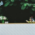 White Pressed Tin Bar Hire from Lovestruck Weddings.