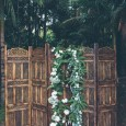 Lovestruck Wooden Folding Screen Ceremony Backdrop - Gurragawee