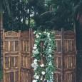 Lovestruck Wooden Folding Screen Ceremony Backdrop - Gurragawee