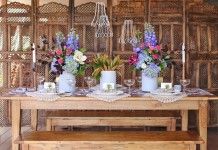 Carved Wooden Folding Screen - Lovestruck Weddings Gold Coast