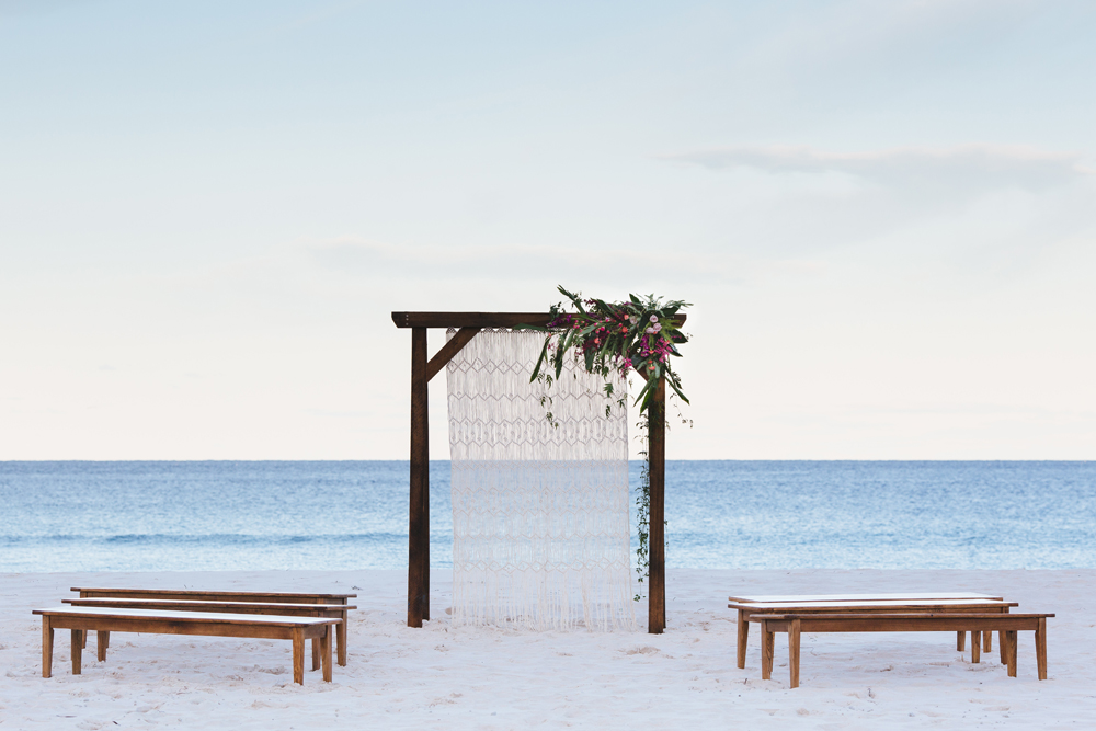 Lovestruck Weddings - Twine Magazine - Ceremony Wooden Arbour Hire