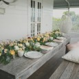 Lovestruck Weddings - Scalloped Plate Hire - Byron View Farm