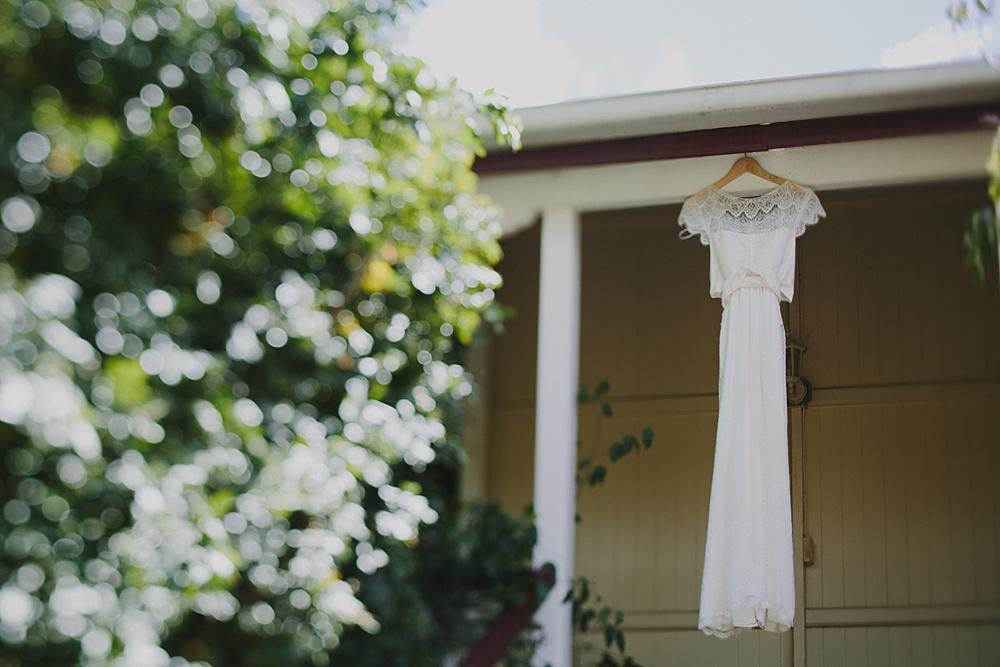 Lovestruck Weddings - Mike & Zoe - Anna Campbell dress from Babushka Ballerina