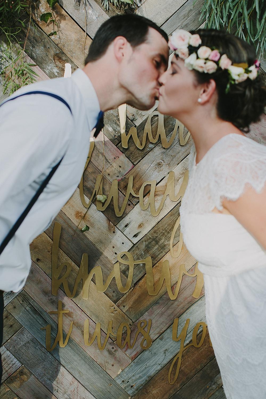 Lovestruck Weddings - Mike & Zoe - Parquetry Backdrop Hire