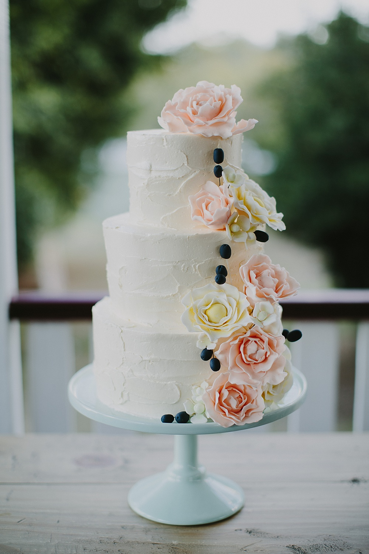Lovestruck Weddings - Mike & Zoe - Cake by the Sweet Folk