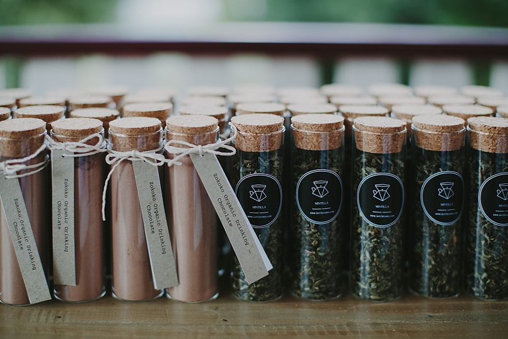 Lovestruck Weddings - Mike & Zoe - Tea and Hot Choc Favours