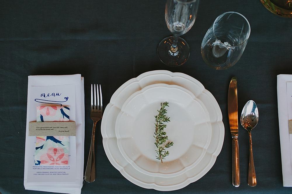 Lovestruck Weddings - Mike & Zoe - Scalloped Plate Hire