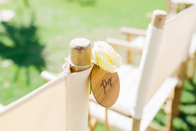 Director Chair Hire by Lovestruck Weddings