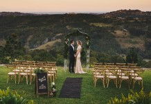 Lovestruck Wedding Ceremony Package with Cross Back Chairs