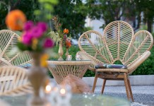 Fancy Rattan Chairs - Gold Coast Corporate Event Hire by Lovestruck Weddings