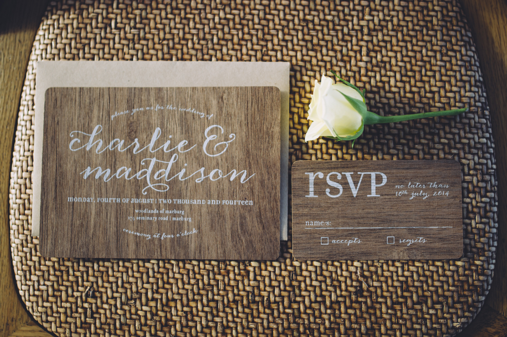 Cartamodello Wedding Stationery