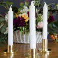 Gold Candlestick Hire - Lovestruck Weddings
