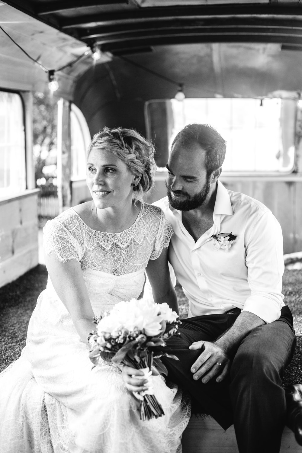 Rob and Anita - Secret Garden Wedding Byron Bay