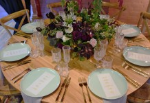 Round Wooden Table Hire - Gold Coast - Lovestruck Weddings