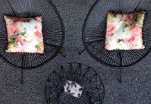 Black Acapulco Chair Hire by Lovestruck Weddings