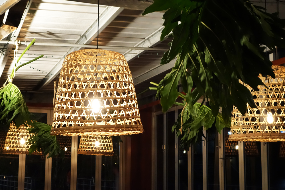 Corporate Event Hire - Basket Pendant Lights by Lovestruck Weddings