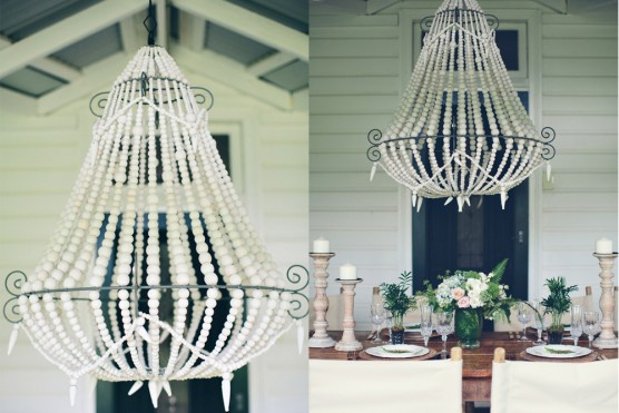 Chairs lounge furniture bars and accessories vases bottles jars - White Beaded Chandelier Lovestruck Weddings And Events