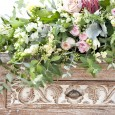 Whitewash Console Table - Lovestruck Wedding Hire
