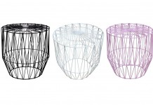 Wire Side Tables - Lovestruck Wedding Hire Gold Coast