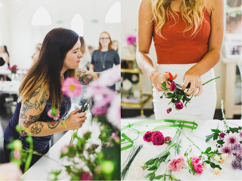 Stem Design Floral Workshop.  The Lovers Collective.