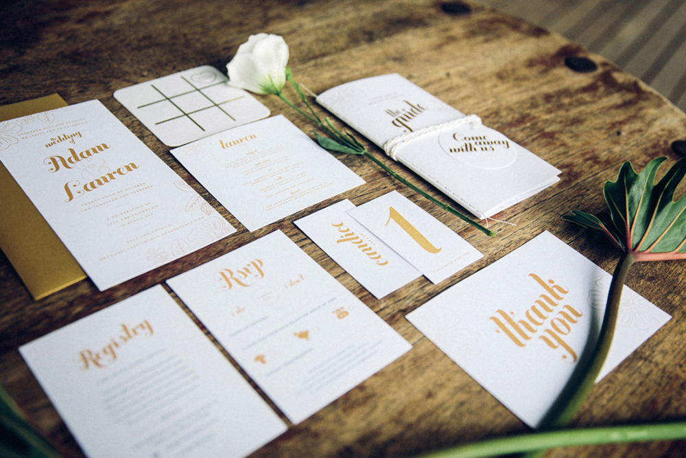 Stationery by Vignette Design