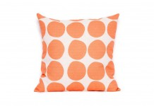 Orange Spot Cushion Hire - Lovestruck Weddings