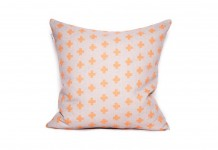 Orange Cross Cushion Hire - Lovestruck Weddings
