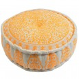 Orange Gypsy Pouf Hire - Lovestruck Weddings