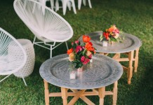 Moroccan Tray Tables - Lovestruck Weddings
