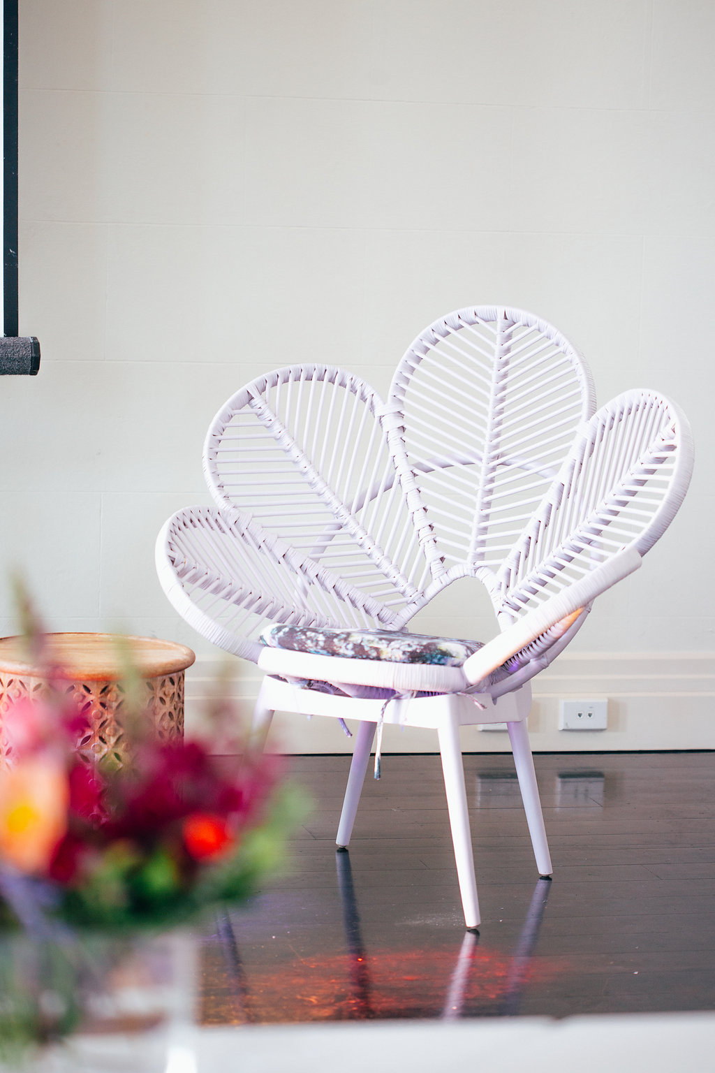 Lovestruck Weddings - Lavender Fancy Rattan Chairs