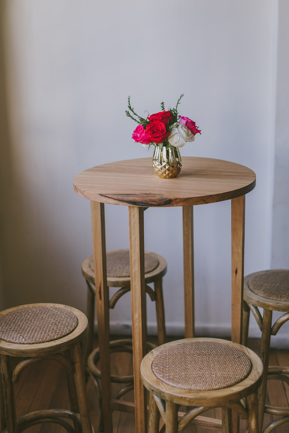 Justin Lane Burleigh Wedding - Cocktail furniture by Lovestruck Weddings