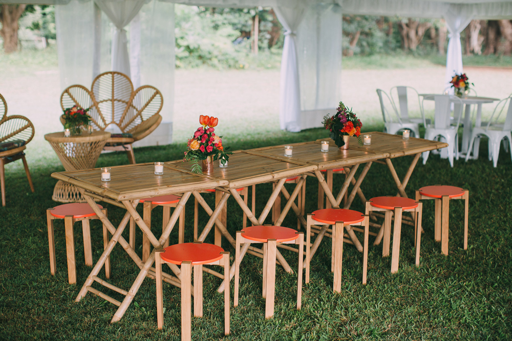 Ewingsdale Hall Garden Cocktail Wedding by Lovestruck Weddings