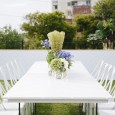 White Tolix Chair Hire by Lovestruck Weddings