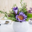 White Planter Hire by Lovestruck Weddings