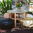 Moroccan Pouf Hire - Lovestruck Weddings